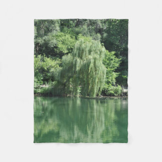 Reflections of Summer Fleece Blanket