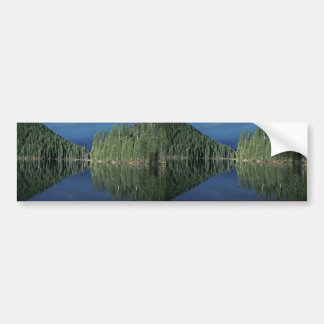 Reflections on a Lake Bumper Stickers