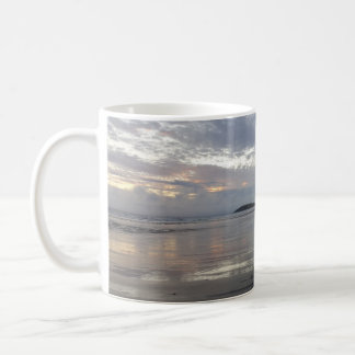 Reflections on Gower Peninsula Beach Mug