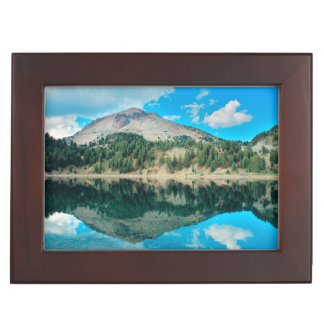 Reflections On Lake Helen Keepsake Boxes