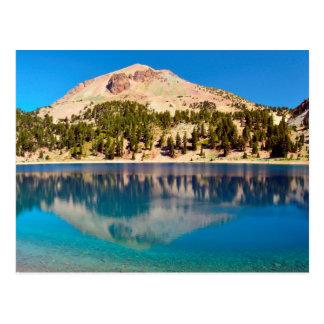 Reflections On Lake Helen, Lassen Volcanic Postcard