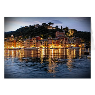 Reflections on Portofino, Itlaia - Card