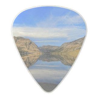 Reflections on Tenaya Lake Acetal Guitar Pick