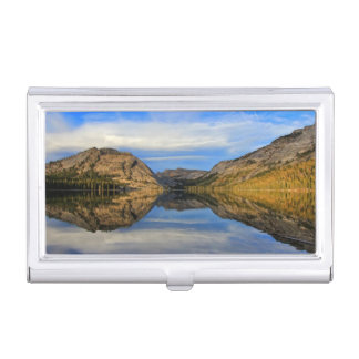 Reflections on Tenaya Lake Business Card Holder