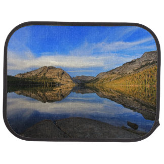Reflections on Tenaya Lake Car Mat