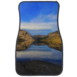 Reflections on Tenaya Lake Car Mat