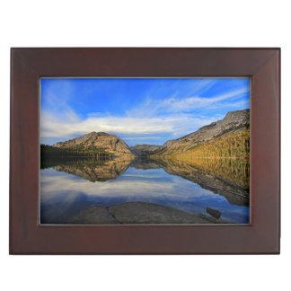 Reflections on Tenaya Lake Keepsake Box