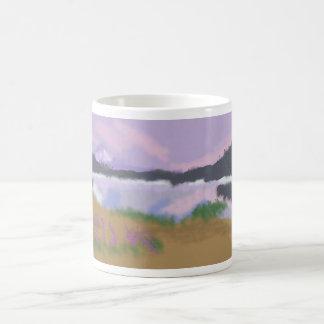 Reflections over the Land Art Coffee Mug