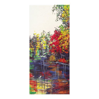 Reflections Painting Personalised Rack Card