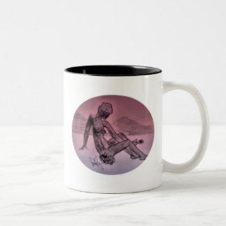reflections.. Two-Tone coffee mug
