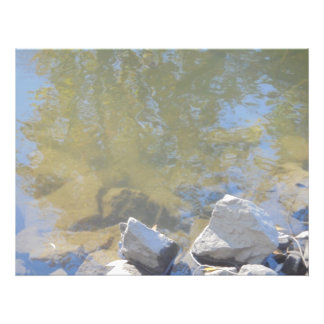 Reflections. Water and stones Photo Art