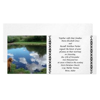 Reflections Wedding Invitations