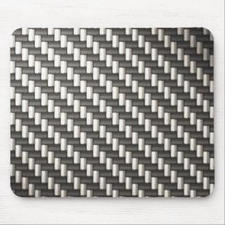 Reflective Carbon Fiber Textured Mouse Mat