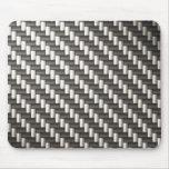 Reflective Carbon Fibre Textured Mousepads