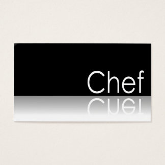 Reflective - Chef - Business Card