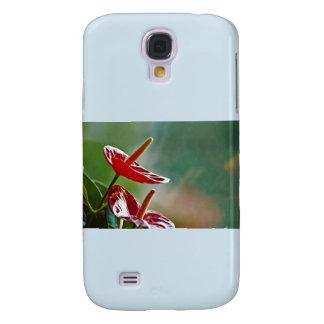 Reflective flower galaxy s4 case