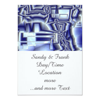 reflective illusion 01 (I) 13 Cm X 18 Cm Invitation Card