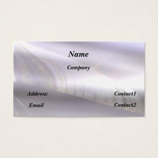 reflective metal - business card
