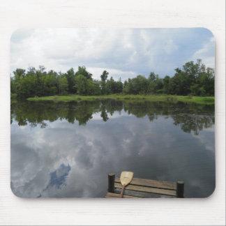 Reflective Pond Mousepad