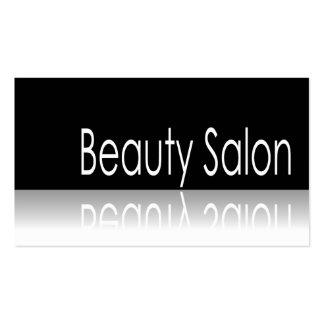 Reflective Text - Beauty Salon - Business Card