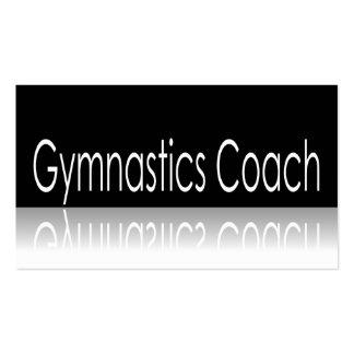 Reflective Text - Gymnastics Coach - Business Card