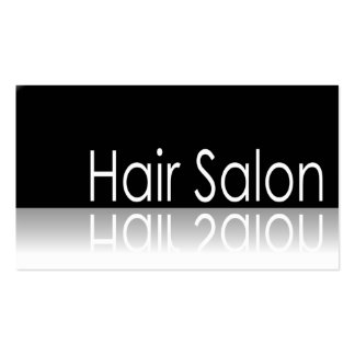 Reflective Text - Hair Salon - Business Card