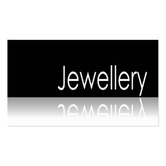 Reflective Text - Jewellery - Business Card