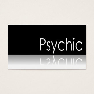 Reflective Text - Psychic - Business Card
