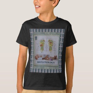 REFLEXOLOGY Full Body Poster Body Spirit n Mind T-Shirt