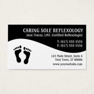 Reflexology Reflexologist Business Cards