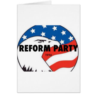 Reform Party Eagle 2 Greeting Card