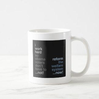 Reform The Welfare System Basic White Mug