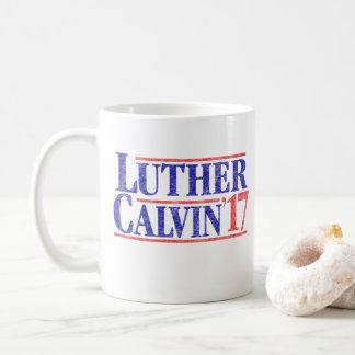 Reformation Vintage Luther Calvin '17 Coffee Mug