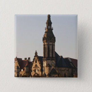 Reformed Church Leipzig, Germany 15 Cm Square Badge