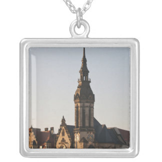 Reformed Church Leipzig, Germany Silver Plated Necklace