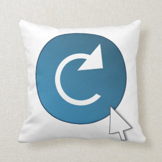 Refresh concept. cushion
