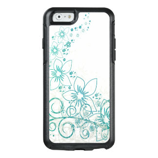 Refreshing Floral Blue Summer Island Design OtterBox iPhone 6/6s Case