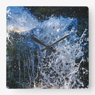 Refreshingly different waterfall wall clocks
