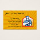 Refrigeration Air Conditioning Mechanic Front Business Card