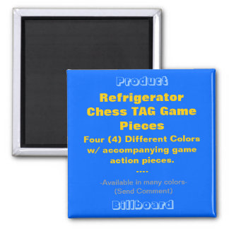 REFRIGERATOR CHESS TAG GAME PIECES MAGNETS