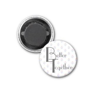 Refrigerator Magnet | Better Together Photo Holder