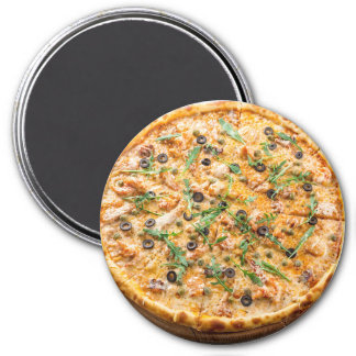 Refrigerator Magnet: Cheese Pizza Magnet