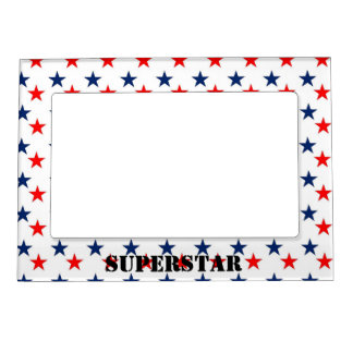 Refrigerator Magnet Frame Kids Picture Superstar