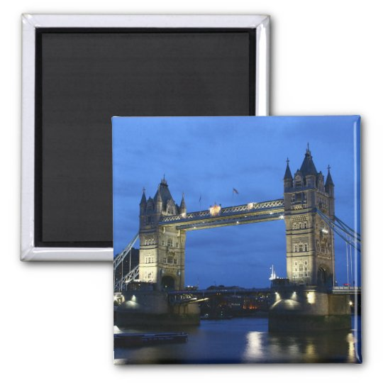Refrigerator Magnet of the London Bridge in London
