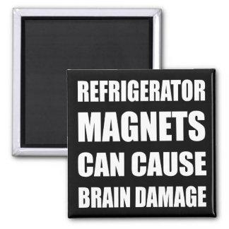 Refrigerator Magnets Can Cause Brain Damage Refrigerator Magnet