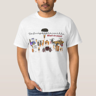 Refrigeratorville: The Spoilage Cast T-Shirt
