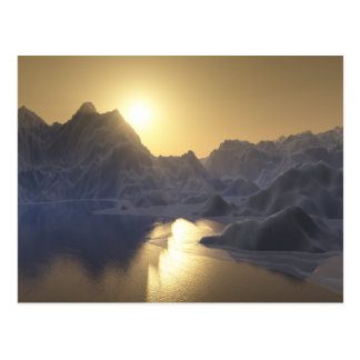 refrozen postcard