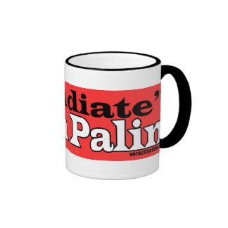 Refudiate Mug2 Ringer Mug