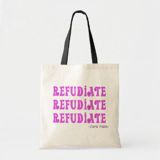 """Refudiate"" Sara Palin's Made Up Word Gifts Bags"
