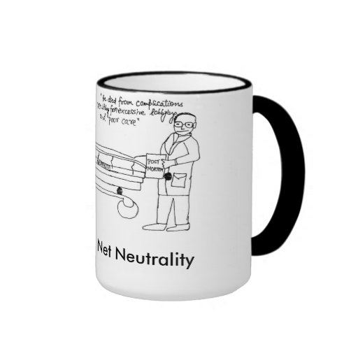 Refueling container for Net Neutrality Warrior Mugs